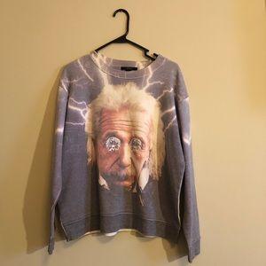Einstein sweatshirt 💜💡⚡️